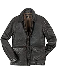 3d214a3baf9 Cockpit USA Men s Blouse Jacket Brown Brown