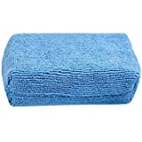 Car Wash Cleaning Sponge Block Wax Sponge Block Car Cleaning Microfiber Terry Cloth Box Polished Cleaning Block Tire Cleaning : Single Bulk