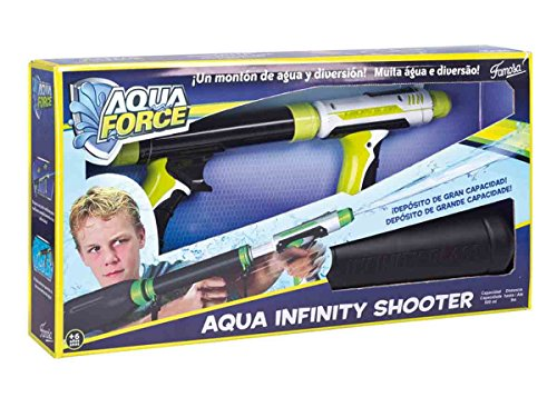 AQUAFORCE - PISTOLA DE AGUA INFINITY SHOOTER (FAMOSA 700012176)