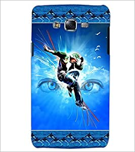 PrintDhaba Dance D-2524 Back Case Cover for SAMSUNG GALAXY J5 (Multi-Coloured)