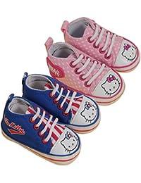 Hello Kitty - Chaussures Bébé Lot de 2 Hello Kitty Couleur - Rose/Bleu, Taille - 6/12M