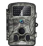 """EARTHTREE Wildkamera Fotofalle Full HD 1080P 12M Jagdkamera mit 120° Weitwinkel Objektiv Fotofalle, 42 Low Glow Infrarot LEDs, 20m Nachtsicht, 2.4"""" LCD Display,IP66 Wasserdicht"""