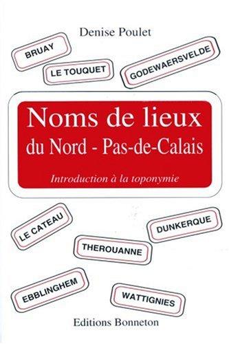 Noms de lieux du Nord-Pas-de-Calais