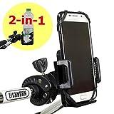 2-in-1 Getränke- und Smartphonehalter