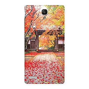 Neo World Autumn Leaves Back Case Cover for Redmi Note 4