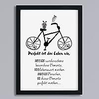 Fahrrad - Freundschaft Kunstdr