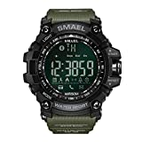 Herren Militaer Uhren XL Grüne Smart Watches Digitale Armbanduhr Sport Smart Watch