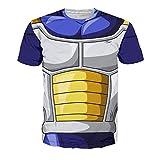 Noorhero T-Shirt Uomo - Dragon Ball Armor Vegeta1