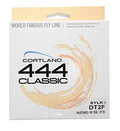Cortland 444Classic SYLK Floating Double Taper Fly Line 2 Double Taper Floating