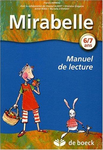 Mirabelle : Manuel de lecture 6/7 ans