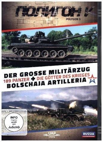 Bild von Der grosse Militärzug - 189 Panzer und Bolschaja Artilleria - Die Götter des Krieges - POLYGON V