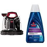 BISSELL MultiClean Spot & Stain Flecken-Reinigungsgerät für Teppiche und Polster, 300 W & Bissell 1134N Oxygen Boost Reinigungsmittel für alle Fleckenreinigungsgeräte, geeignet , 1 x 1 Liter