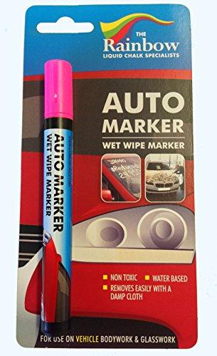 Rosa Auto Marker–Abnehmbare Farbe für Körper- und Windschutzscheibe