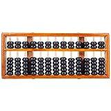 TININNA Chinesisch Vintage Hölzern Abacus Soroban Rechenrahmen Mathematik Zählrahmen Rechenschieber