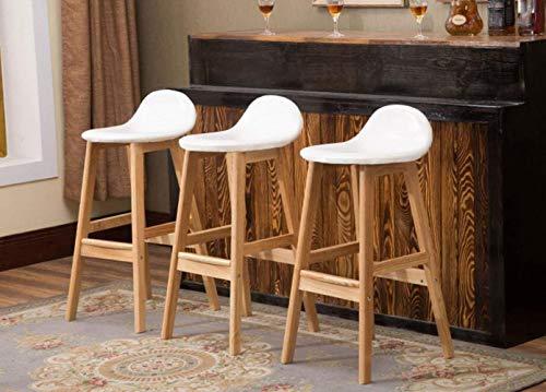 Stile diverso sedia da bar americano in legno massello sgabello