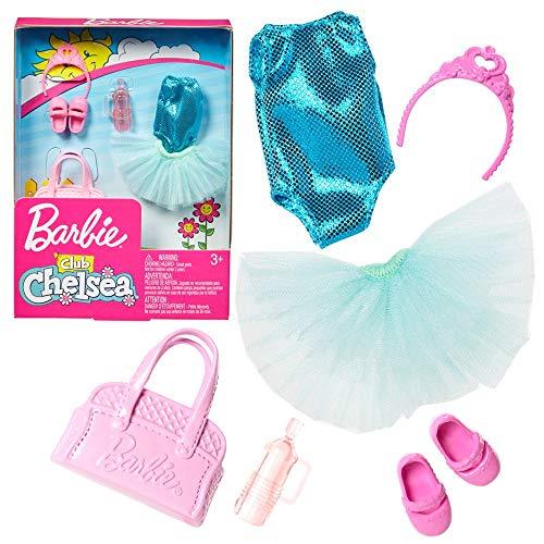 Mattel Set Ballerina   für Chelsea Barbie FXN72   Trend Mode Puppen-Kleidung