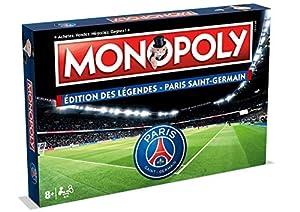 Winning Moves Monopoly Paris Saint Germain Edition de Las Leyendas, 0099, Version Francesa