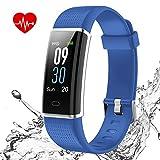 ISWIM Orologio Fitness Tracker Impermeabile IP68 Smartwatch Android iOS Cardiofrequenzimetro da...