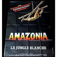 Amazonia la selva blanca Póster de película 120x 160–1985–Deodato, cannibales