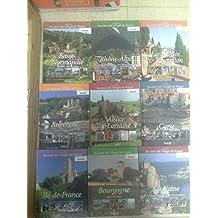 Lot 9 livres au cœur des villages de France : Aquitaine - Corse - Auvergne - Bourgogne - Alsace-Lorraine - Rhône-Alpes - Basse-Normandie - Languedoc Roussillon - Ile-de-France -