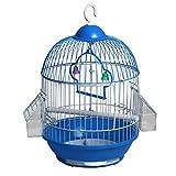 Cage à Oiseaux en Fer forgé métal Perle Oiseau Acacia Oiseau Perroquet Villa idéale pour Transporter Une Petite Cage à Oiseaux