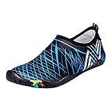 UPhitnis Skin Shoes Quick-Dry Hombres Mujeres Niños Zapatillas Para el Agua, Los Zapatos de Piel de Peso Ligero, Descalzos Unisex Aqua Calcetines Calzado Para Playa Surf Buceo Nadar Yoga Caminar Lago