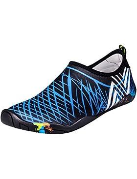 UPhitnis Skin Shoes Quick-Dry Hombres Mujeres niños zapatillas para el agua, los zapatos de piel de peso ligero...