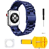 Apple Watch Armband Edelstahl Ersatz Uhrenarmband Armbänder für Apple Watch 38mm 42mm Apple Watch...