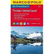 MARCO POLO Freizeitkarte Tiroler Unterland 1:120.000