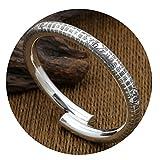 Epinki 925 Sterling Silber Unisex Armband Word