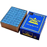 TRIANGLE CHALK FOR SNOOKER AND POOL CUE ( BLUE )