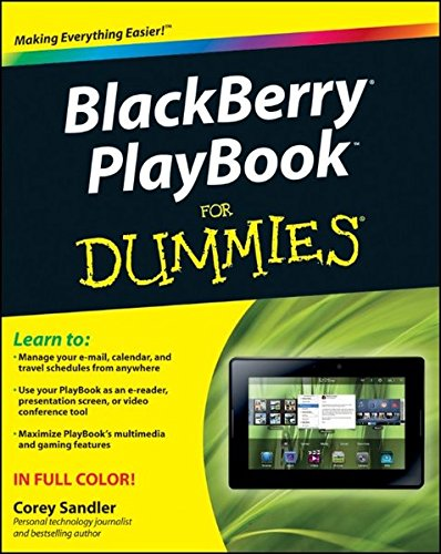 BlackBerry PlayBook For Dummies (For Dummies Series)