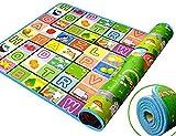 FLIPXEN Foldable Play Mat - Large Tummy Time Folding Reversible Baby Mats