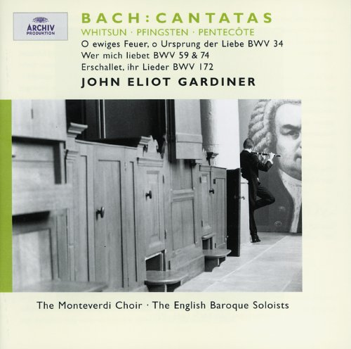 Bach, J.S.: Whitsun Cantatas B...