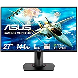 "ASUS VG278Q - Ecran PC gaming eSport 27"" FHD - Dalle TN - 16:9 - 144Hz - 1ms - 1920x1080 - 400cd/m² - DP, HDMI et DVI - Haut-parleurs - Nvidia G-Sync Compatible - AMD FreeSync"