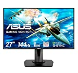 Asus VG278Q 68,65 cm (27 Zoll) Monitor (HDMI, DisplayPort, Full HD, FreeSync, G-Sync Compatible, 1ms Reaktionszeit)