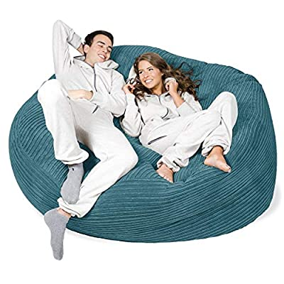Lounge Pug® - CORD - GIANT Bean Bag SOFA - MEGA MAMMOTH - Beanbag