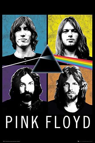 Preisvergleich Produktbild Close Up G874255 Pink Floyd Poster Band,  Mehrfarbig,  61x91.5 cm,  2 Einzelteil