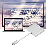 ToGames-DE Typ C zu 4K HDMI USB 3.0 Lade Hub Adapter USB-C 3.1 Konverter für MacBook