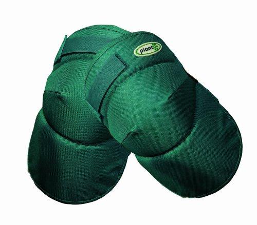 planto 90202 Komfort Knieschoner mit Klettverschluss Dick und weich, bester ergonomischer Schutz für Knie beim Arbeiten, praktischer als Knie-Kissen, für alle bodennahen Arbeiten geeignet, anatomische Form. 1 Paar