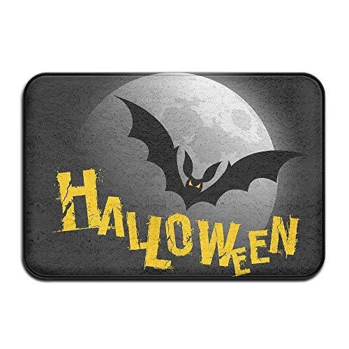 Halloween Indoor Outdoor Entrance Printed Rug Floor Mats Shoe Scraper Doormat for Bathroom, Kitchen, Balcony, Etc 15.7 X 23.6 Inches floor rugs clearance rugs