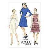 Vogue Patterns V9125 Misses' Dress, Size E5 (14-16-18-20-22)
