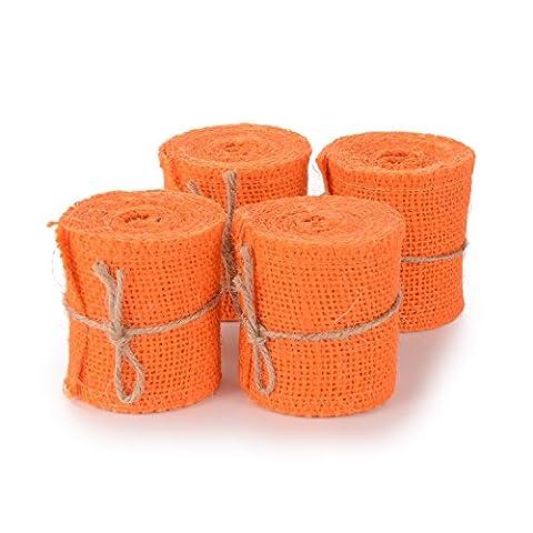 Advantez Rural Linen Ruban Hessian Burlap Ruban Coton Rustique Mariage