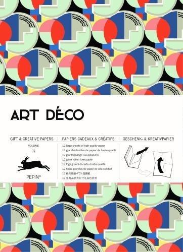 Art  Deco: Geschenk- und Kreativpapierbuch Vol 75 (Art Deco: gift & creative paper book)