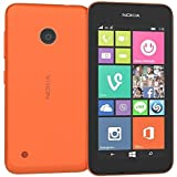 """Nokia - Lumia 530 Smartphone Movistar Entriegelt Windows Phone (Bildschirm 4 """", 5-Megapixel-Kamera, 4 GB, 1,2 GHz, 512 MB RAM), Orange"""