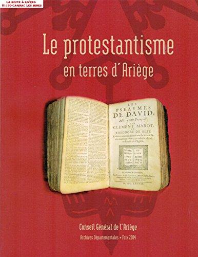 Le protestantisme en terres d'Arige