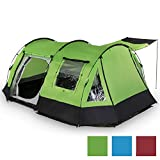 skandika-Kambo-4-Person-Man-Tunnel-Group-Family-Tent-with-3-Entrances-Mosquito-Netting-3000mm-Water-Column-Sun-Canopy-Sealed-Seams