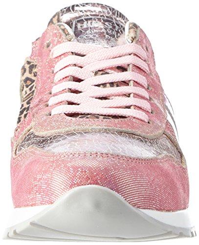 HIP H1820/162, Baskets Basses fille Rose - Pink (82MP / 82KR / 82LB)