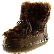 Zarupeng Los Hombres del Tobillo Bajo Recortar el Tobillo Plano Botas de Otoño Invierno Casual Martin Shoes (46, Negro)