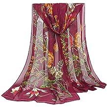 Oyfel Écharpe Foulard Châle Automne Hiver Polaire Noel Mode Design Chic  Mousseline Soie Mauve Lin Marin 1dd0e0cb714